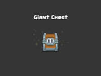 Clash Royale: Giant Chest