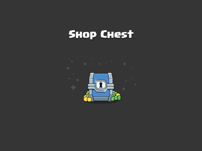 Clash Royale: Shop Chest