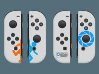 Portal 2 Joy-Cons