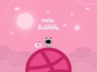 Hello. Dribbble