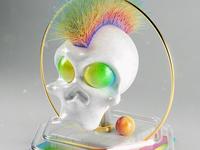 Punky Skull