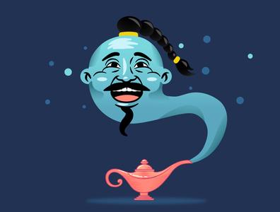 Yoshiko in Aladdin