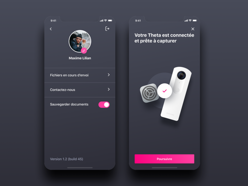 PixMyCar : redesign vector automotive camera application minimalism design branding app mobile ux ui