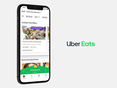 Uber Eats:  Rewards uber animation vector animation design ux ui product design