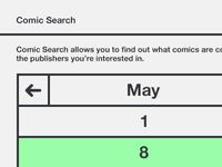 Comic Book Search Wire