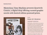 Quarterly Comics