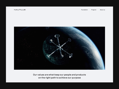 Space Agency layout spacex travel gif whitespace website tourism agency space