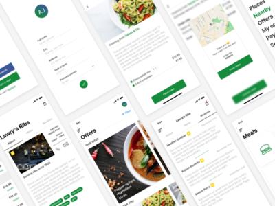 Food Delivery & Restaurant Finder App | 20+ Screens