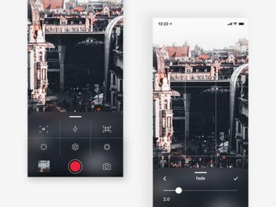 Camera App | UI