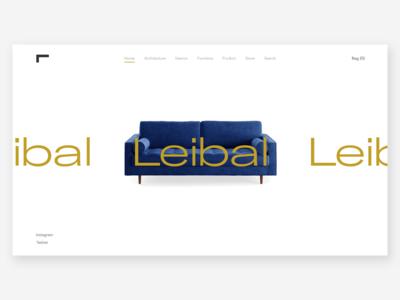 Leibal | Furniture Website