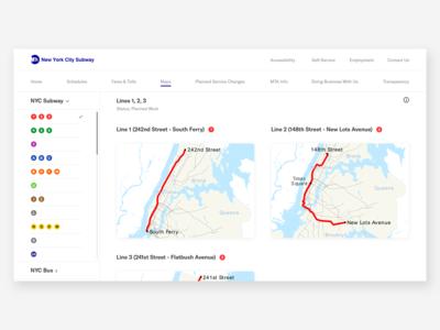 MTA | Maps Page