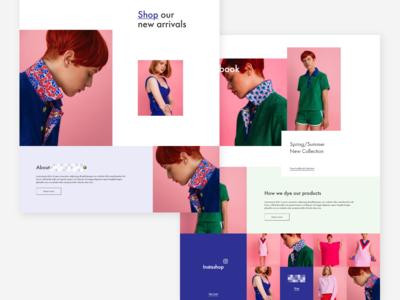 Fashion Webshop | Rejected Proposal