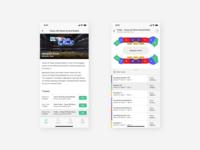 Stadium App | Event Screens
