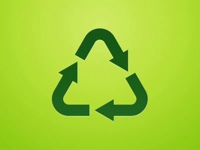 Recycling animation recycle video animation