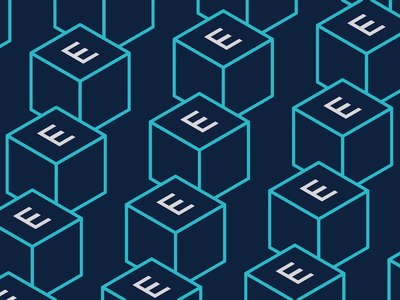 ENNEMM isometric animation 2 cinema4d boxes squares loop letters vector motion isometric animation logo