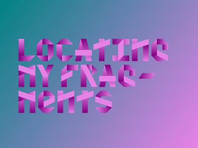 Fragments Monowidth Display Typeface monowidth display type typeface
