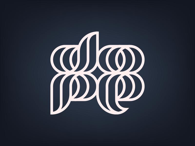 dope typography lines type dope