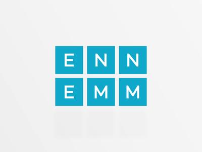 ENNEMM logo loop logo animation