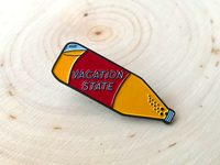 Vacation State 40oz Pin