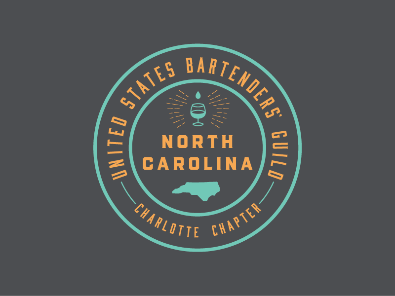 USBG - Charlotte Chapter badge charlotte nc bartenders alcohol usbg