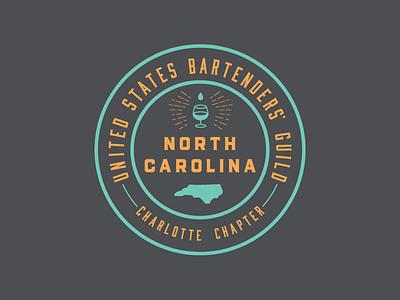 USBG - Charlotte Chapter badge charlotte nc bartenders alcohol usbg
