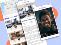 Roommate Finder Quiz by Michael Kuhn on Dribbble