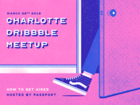 Dribbble meetup shot teaser