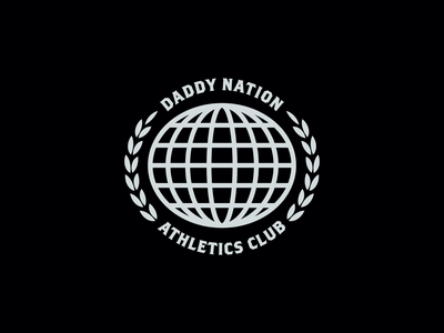 Daddy Nation Athletics Club dna club athletics nation global vector design logo branding