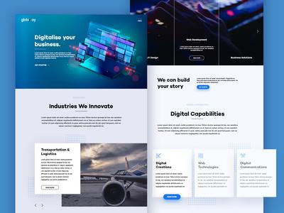 Globiway Website Redesign