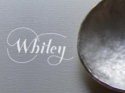 Kerstie Whiley Bespoke Jewellery branding website logo script
