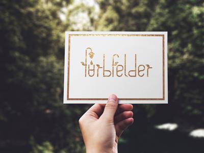Farbfelder Business Card and Logo