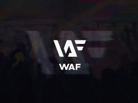WAF logo design