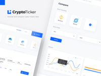 CryptoTicker - Compare and Discover crypto market data
