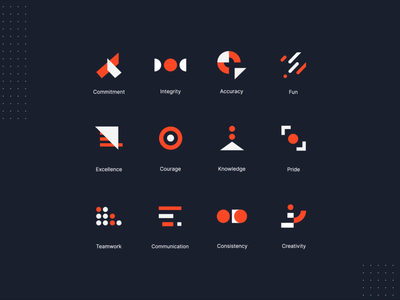 animated icons animated rebranding brading animated icon motion graphic animated logo icons brand identity geometric abstract micro interaction micro animation aftereffects communication website elements ui design visual identity branding gif ui animation