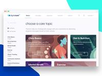 Digital Care 100 Medical Platform design