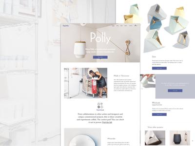 Espiritu Homepage artdirection shopify store homepage design uidesign eccomerce