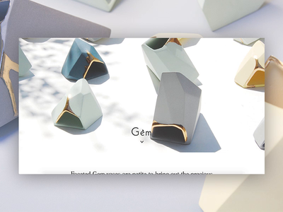 Espiritu Gem Productpage responsive design shopify store art direction eccomerce interface design