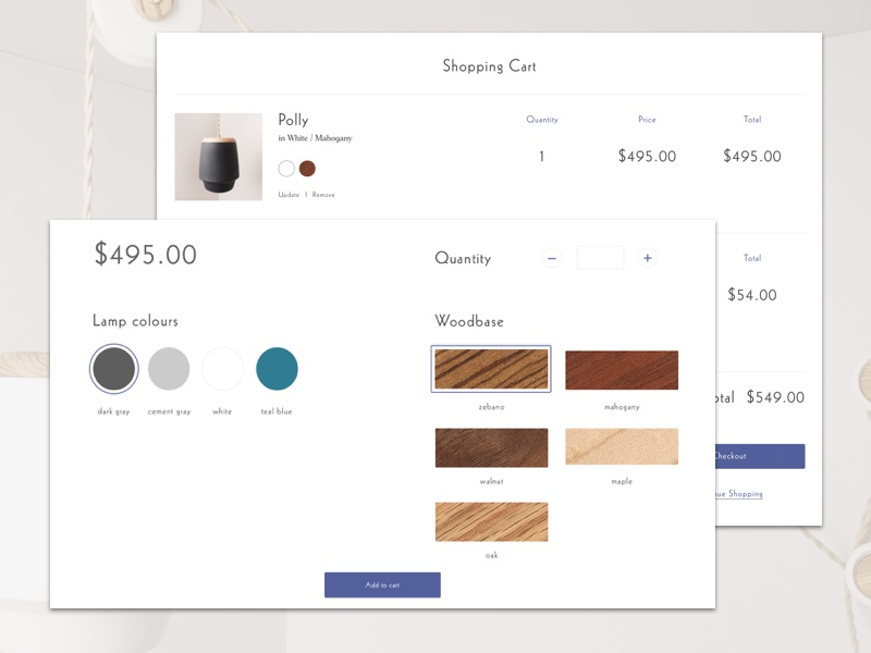 Product Customization customization shopping cart shopify store interface design eccomerce