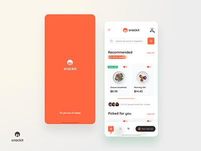 Food app taste buy order food userexperiance design ux dribbbleshot interface app mobile ui ios