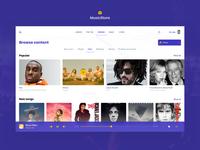 Music store app