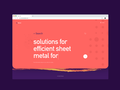 Metallurgist industry website - search search metallurgist interface design userexperiance webdesign typography ui ux web dribbbleshot interface