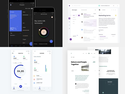 2018 ios webdesign mobile ui interface app dribbbleshot
