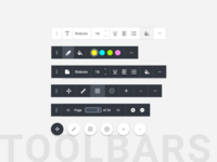 Floating Contextual Toolbars