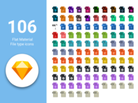 106 Free Flat material Icons