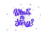 What's The Story Logo