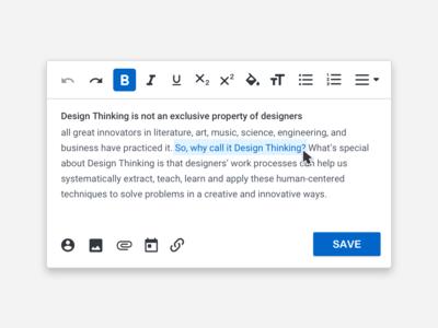 Text Box browser desktop ux vector design ui