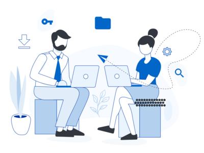 Illustration devices mobile browser desktop vector illustration