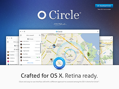 Circle for mac concept 2012