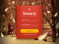 Snow.ly Sign Up