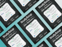 Studysoup Elite Notetaker Flyer Design